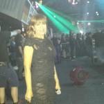 Sandra Reemer in jurk van Addy van den Krommenacker Ziggodome